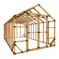 10x20 Standard Storage Shed Kit, No Floor