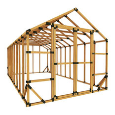 10x20 Standard Storage Shed Kit, With Floor Framing