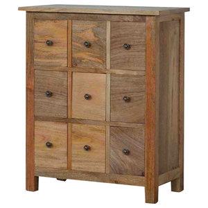 9 Drawer Mango Wood Chest of Drawers