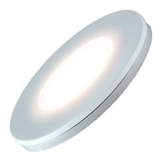 LED Undercabinet Puck Light, Dimmable, 3W, Soft White 2700k, Single