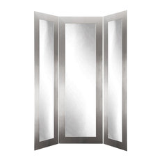 Bestselling Contemporary Trifold Floor Mirrors for 2018   Houzz