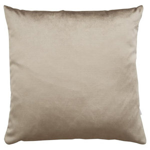 A.U. Maison Latte Velvet Silk Cushion Cover, 70x70 cm