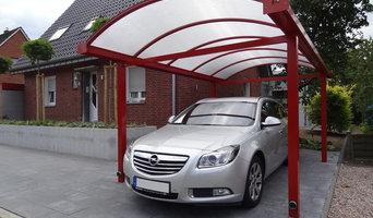 Aluminium-Carport Typ N
