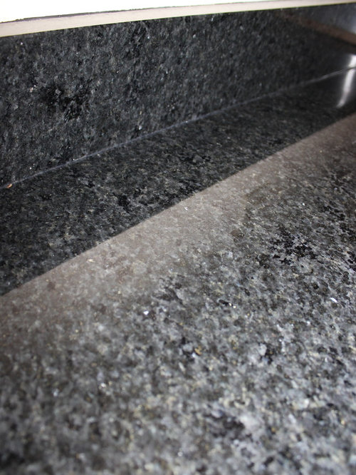 Maple Kitchen Cabinets With Black Pearl Granite