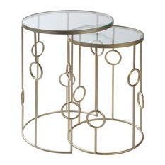 Zora Modern Nesting Table Set
