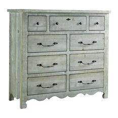 Chatsworth Drawer Dresser, Mint, Without Mirror