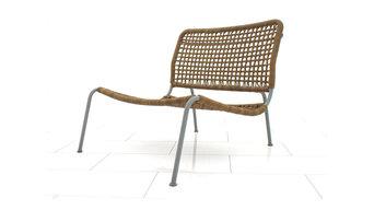 "Piero Lissoni Leather ""Frog"" Chair, Lounge Chair Living Divani 1995"