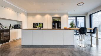 Küchenprojekt 11: Moderne Küche in matt weiß
