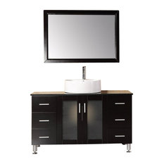 48 Inch Modern Single Bathroom Vanity