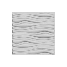 Branches Design 3D Glue On Wall Panel, Box of 6, 32.18 sqft