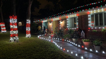Christmas Lights Installation in Lakewood Dallas