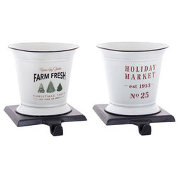 Christmas Stockings And Holders by Melrose International LLC
