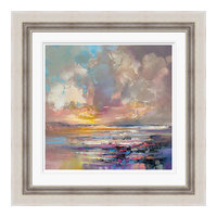 """Radiant Energy"" Framed Print by Scott Naismith, 71x71 cm"
