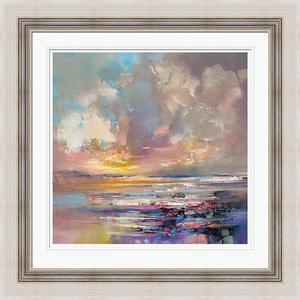 """Radiant Energy"" Framed Print by Scott Naismith, 71x71 cm"