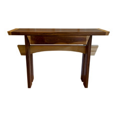 Blowing Rock Wood Works   Asian Style Foyer Table, Entry Table, Art  Furniture