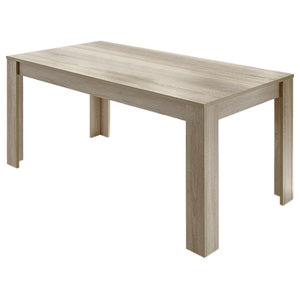 Diana Sonoma Oak Finish Dining Table