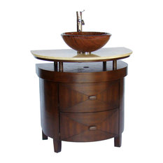 Bathroom Vanities For Vessel Sinks bathroom vanities for vessel sinks | houzz