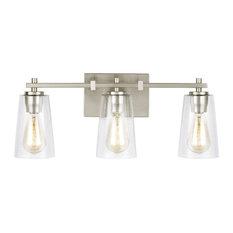 """Feiss VS24303 Mercer 3 Light 21-1/2"""" Wide Bathroom Vanity Light"""