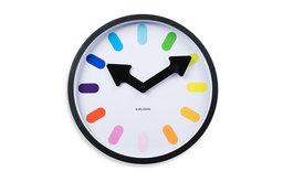 Present Time Karlsson Clock, Rainbow