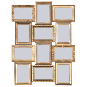 Maggiore Gold Multi Photo Frame, 53x69x2 cm