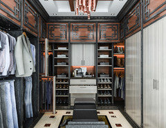 A Man Definitely Should Have His Own Personal Space! A Custom Designed  Closet Not Only Is A Perfect Storage Solution But Can Also Be Attractive  Enough To ...