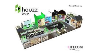 Design d'un stand - Projet ITECOM PARIS 2017 en partenariat avec Houzz