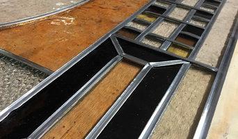 Création vitrail verrière en séparation de pièce