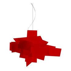 Big Bang Chandelier, Red, Large