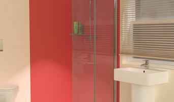 UniClosure 800 Folding Wet Room Shower Screen