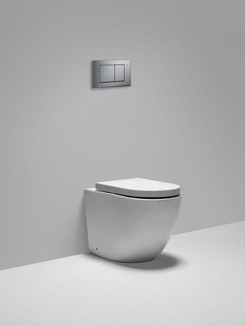 Blu Bathworks - halo dual flush floor-mount toilet - Toilets - Wall-mount Toilets + Bidets