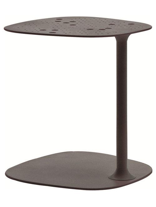 Aikana Sidobord H63cm, Grå Metallic - Sideborde & aflastningsborde