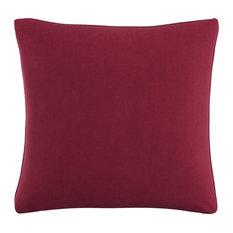 """Polyester Fill Pillow, 20""""x20"""", Velvet Berry"""