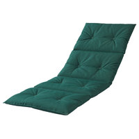 Outdoor Chaise Lounge Pad, Forest Green