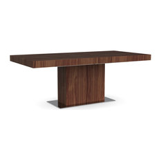 Park Table, Park Frame, Walnut Leg Finish, Walnut Top