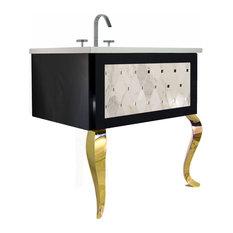 Gold Bathroom Vanities | Houzz