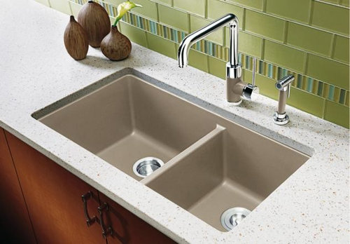 Anyone Who Has This Sink Find Is A Problem Or Once Installed It Isn T Deal Did You Have Your Fabricator Not Use The 1 8 Reveal Somehow