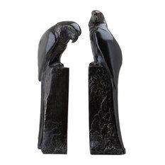 Eichholtz Perroquet Bronze Bookends, 2-Piece Set