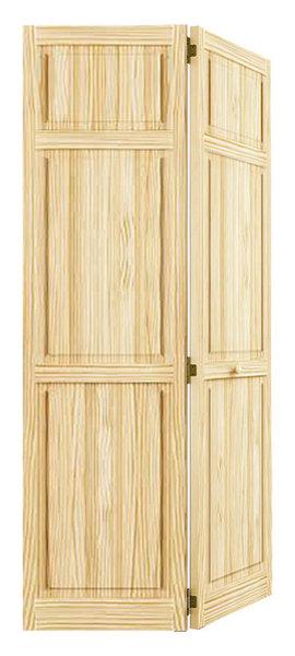 Bi Fold Closet Door Traditional 6 Panel Transitional Interior
