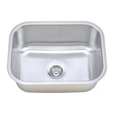 Wells Sinkware 2318 Single Bowl Sink Pack, 18 Gauge, Sink Only
