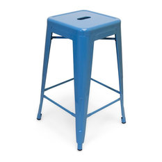 Galaxy Counter Stool (2) Blue