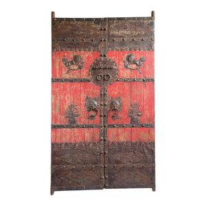 Consigned Mongolian Garden Gate