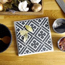 DIY : Créer un dessous-de-plat à partir d'un carreau de carrelage
