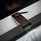 HIM deck mounted tap in rose gold