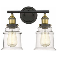 Vanity Wall Light Bathroom Lighting 2-Lights Industrial Retro Antique