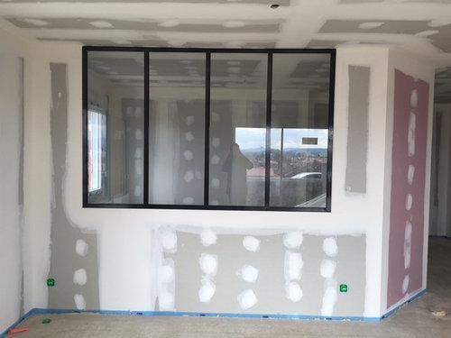 besoin d aide pour mur derriere verriere. Black Bedroom Furniture Sets. Home Design Ideas