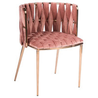 Milano Dining Chair, Rose