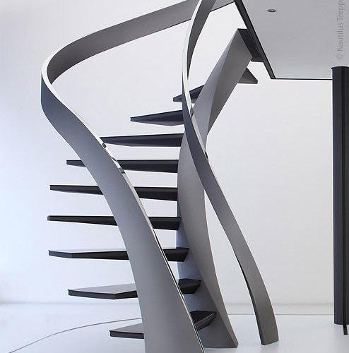 Nautilus Treppen skulpturtreppe