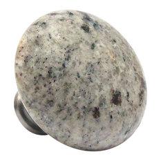 Kashmir White Granite Stone Knob
