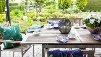 Afrikanisch inspiriertes Textildesign - Les Perroquets
