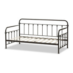 Elsie Antique Dark Bronze Metal Daybed